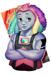 It's my Bismuth | Bismuth fan art by Dangaso