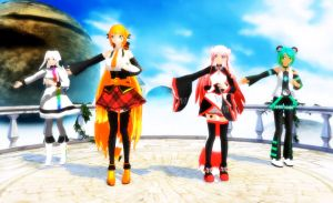 [MMD Utau] Tell Your World- Video by khftw