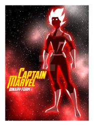 Cam's MAU Captain Marvel (Binary) by TheScarletMercenary