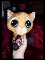 My Puss in Boots plushie by KillerSandy