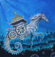 seahorse by DavvomWildentenclan