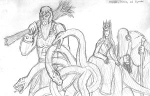 Fierce Wars and Faithful Loves, Villains 1 by DWestmoore