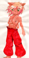 catboy with pants by LCom