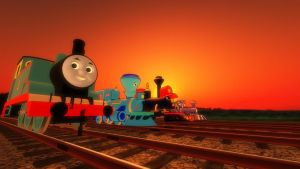 Youtube Banner: The Railways of Crotoonia by TheMilanTooner