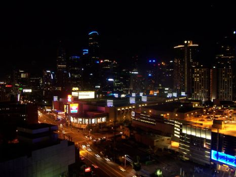 Melbourne by Night by NadsXavier