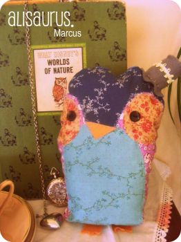Mr. Marcus Owl. by alannah-the-pirate