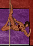 Megan's Pole Dance by Jeffroww