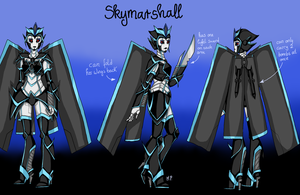 :TfP OC: Skymarshall by MikuParanormal