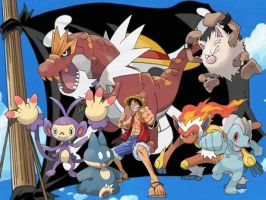 Luffy's Pokemon by magmon47