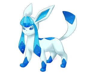 Shiny Glaceon by Alexxxa4