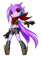 'Red scarf' Bandits ver concept Lilac (fanart) by AnRock3