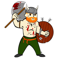 Vault Boy Viking by forArkan