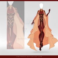 (CLOSED) Adoptable Outfit Auction 254 by JawitReen