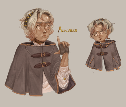 Auriville [The Arcana OC] by sweetahoges