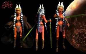 Adult Ahsoka Tano Sexy Custom Figure JVCustoms 1 by jvcustoms