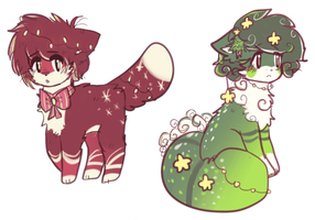 christmas adopts OPEN by viixens