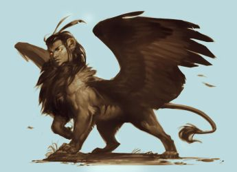 Sphinx by LhuneArt