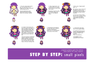 step by step: small pixels by Ichitoko