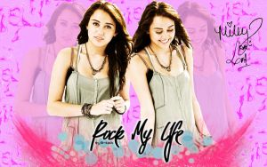 wallpaper miley cyrus by MyHeartWithJoe