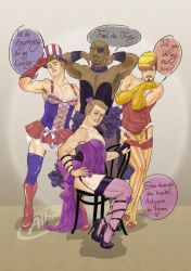 Avenge me some Marvellous Cheesecake--Burlesque by GeezGeorge