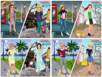 Phone Friends dress up game by DressUpGamescom