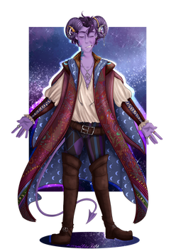 Mollymauk Tealeaf Tribute - Critical Role by SafirasArt