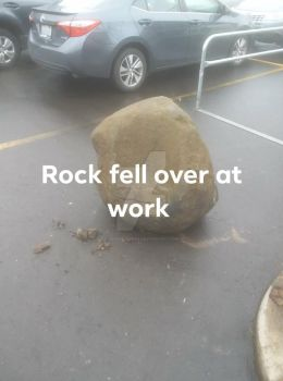 Rock In The Parking Lot by Demon-Tiger3