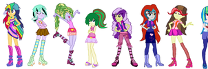 Gift outfits ( EQG Next Gen ) by HuskyRBTorchick