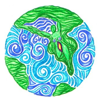 Gaia Water and Earth by GaiaGroove