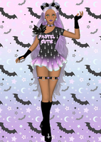 Sailor Senshi: Original ~Pastel Goth~ by LaKiraRee