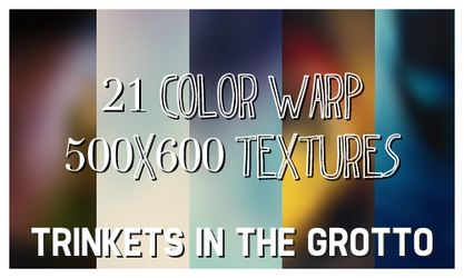 21 Color Warp Textures by xonlyashesx