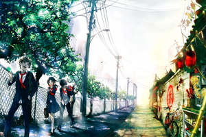 Between Today and Tomorrow by yuumei