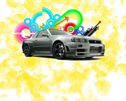 Skyline Vector by HellofEarth