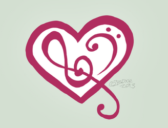 Melodies of the Heart Logo by Little-Miss-Boxie