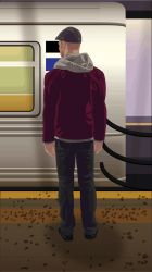 Stand Clear (NYC Subway) by MattPalizay