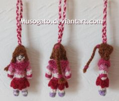 Ty Lee Crochet Keychain by musogato