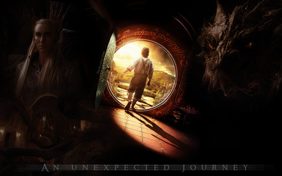An unexpected journey by aranellenolwe