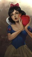 Snow White by nell-fallcard
