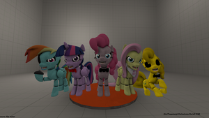 Five nights at pinkies 1 by MurielliEQG