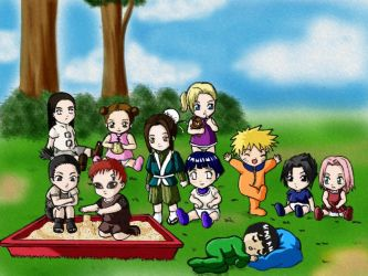 Naruto: uhm.. Day Care Center? by himiko
