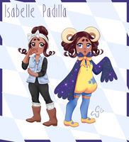 Isabelle Padilla by caiterprince
