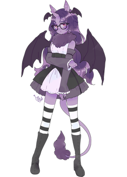 commission for nightmarewing by Hacuubii