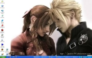 Cloud x Aerith by Epsilon86