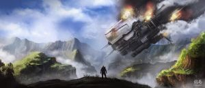 Halo 4: The Fight Begins Again by RyoTazi