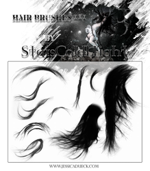 Hair Brushes III by starscoldnight by StarsColdNight
