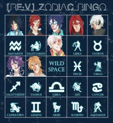 REV: Zodiac bingo by twendigo