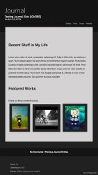 Grayscale Free Journal Skin by fantasy-alive