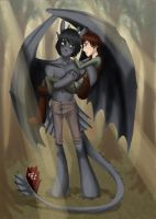 Anthro Toothless by JenKristo