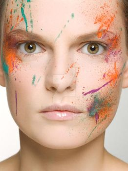 My Work as a Make Up Artist by Griphee