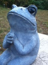 Praying Frog by ImpavidMinds